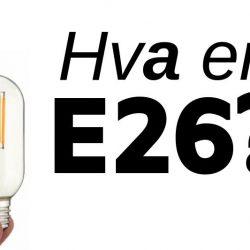 hva er en e26 lyspære