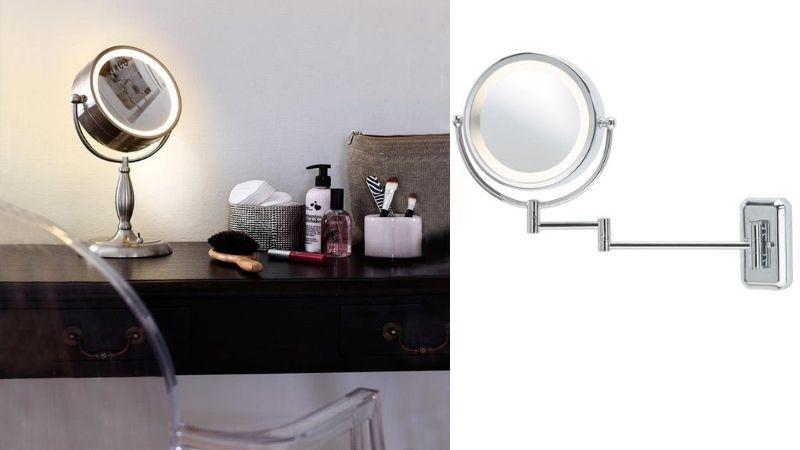 Plassering av spotter og lampe på Bad Inspirasjon & Tips
