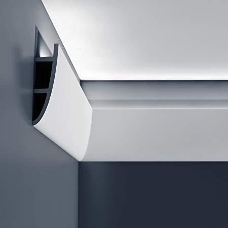 Fördelarna med indirekt belysning dold ljus i tak och lister