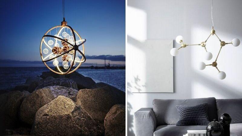 Inspirerende & Vakre Moderne Lysekroner til Stue, Spisebord og Soverom