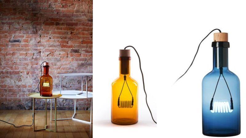 Bouche – Kul Lampe i Flaske fra Seletti