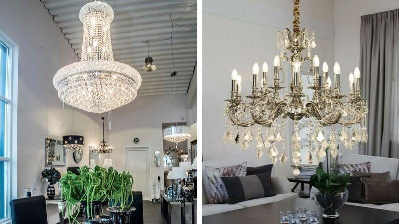 Inspirerende & Vakre Moderne Lysekroner til Stue, Spisebord