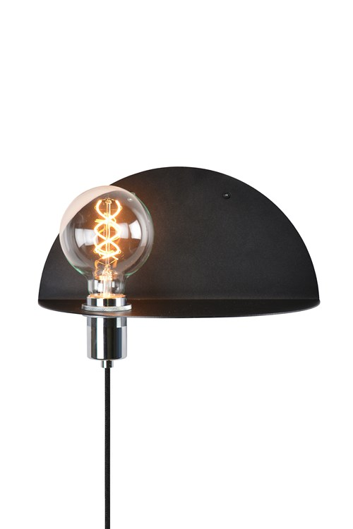Fine Vegglamper med Hylle & Funksjon