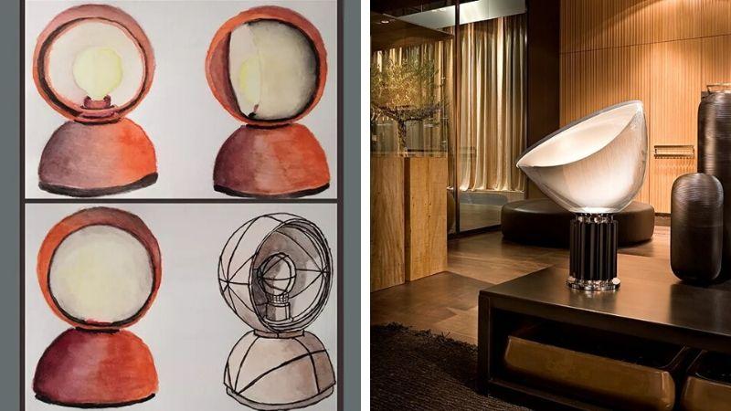Ikoniske Italienske Designlamper igjennom tidene. Del 1: 1929-1969