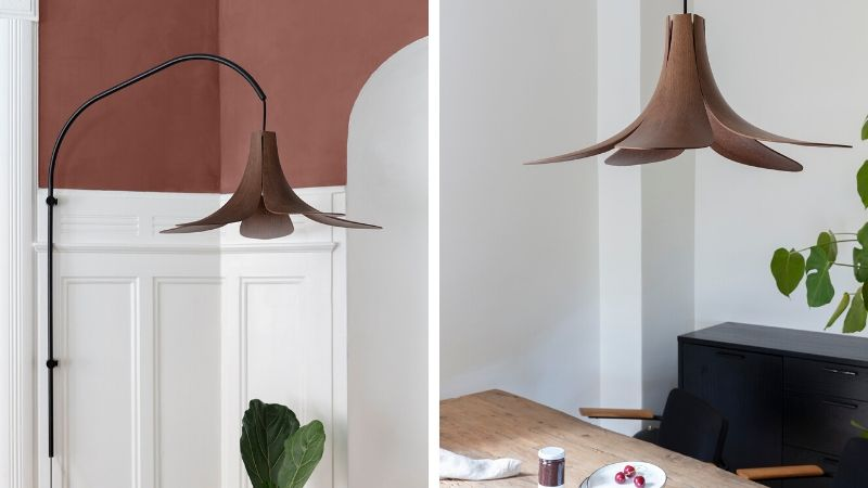 Jazz – Trelampe til vegg, tak, gulv og bord fra Umage
