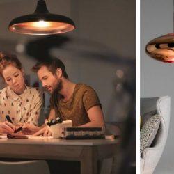 inspirasjon kobberlamper