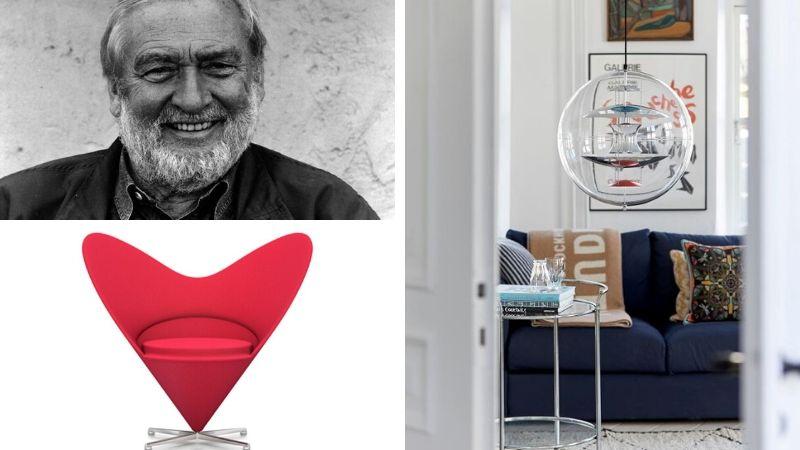 Verner Panton – Mannen bak ikoniske lamper og møbler