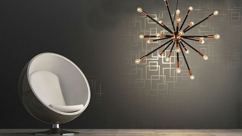 Vakre Lamper med mange pærer – Inspirasjon & Tips