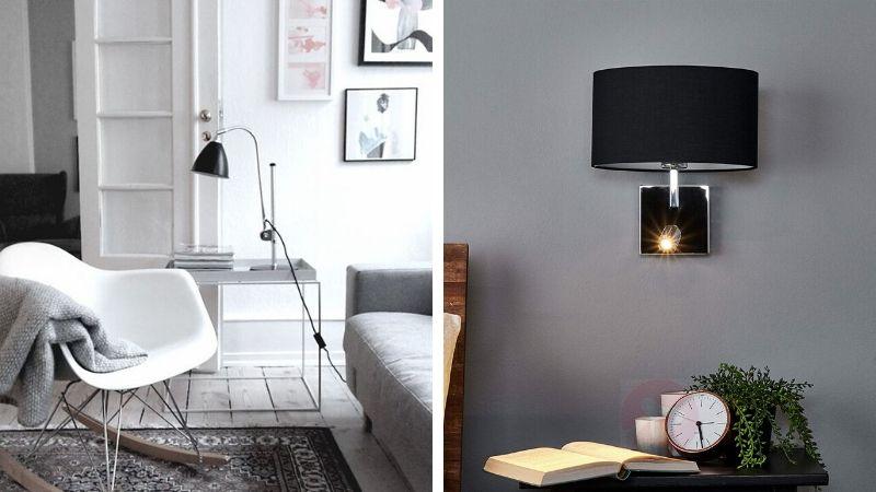 Smukke læselamper til hus   Væg og gulvlamper med læselys