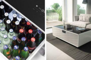 sofabord med kjøleskap