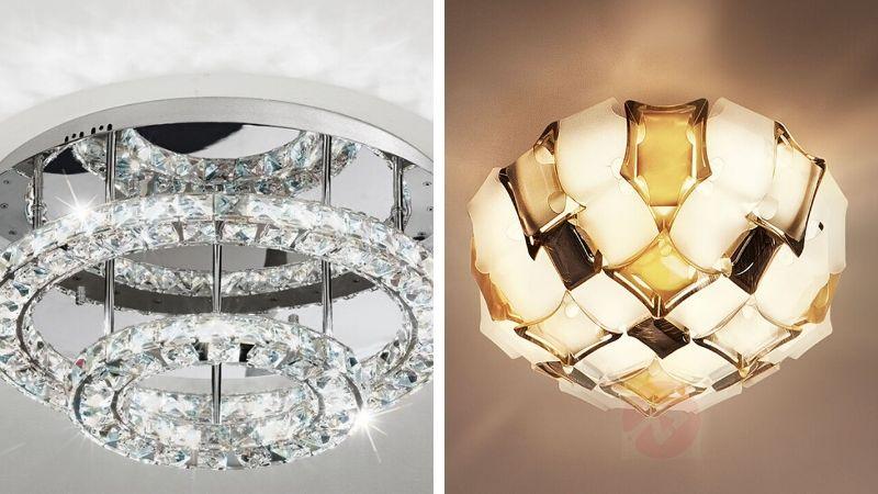 Lekre Takplafonder i Krystall og glass