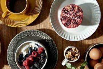 retro tallerkener og servise