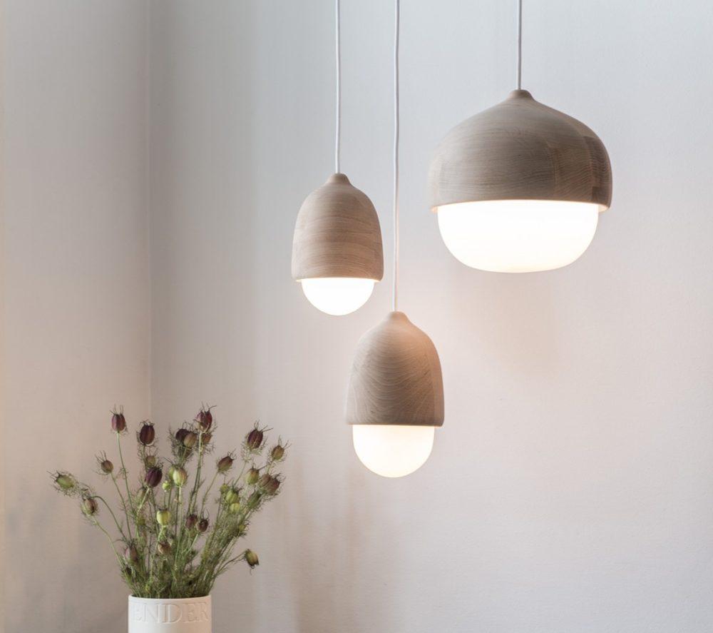 Trelamper til Bolig Vakre og Naturlige lamper i Tre