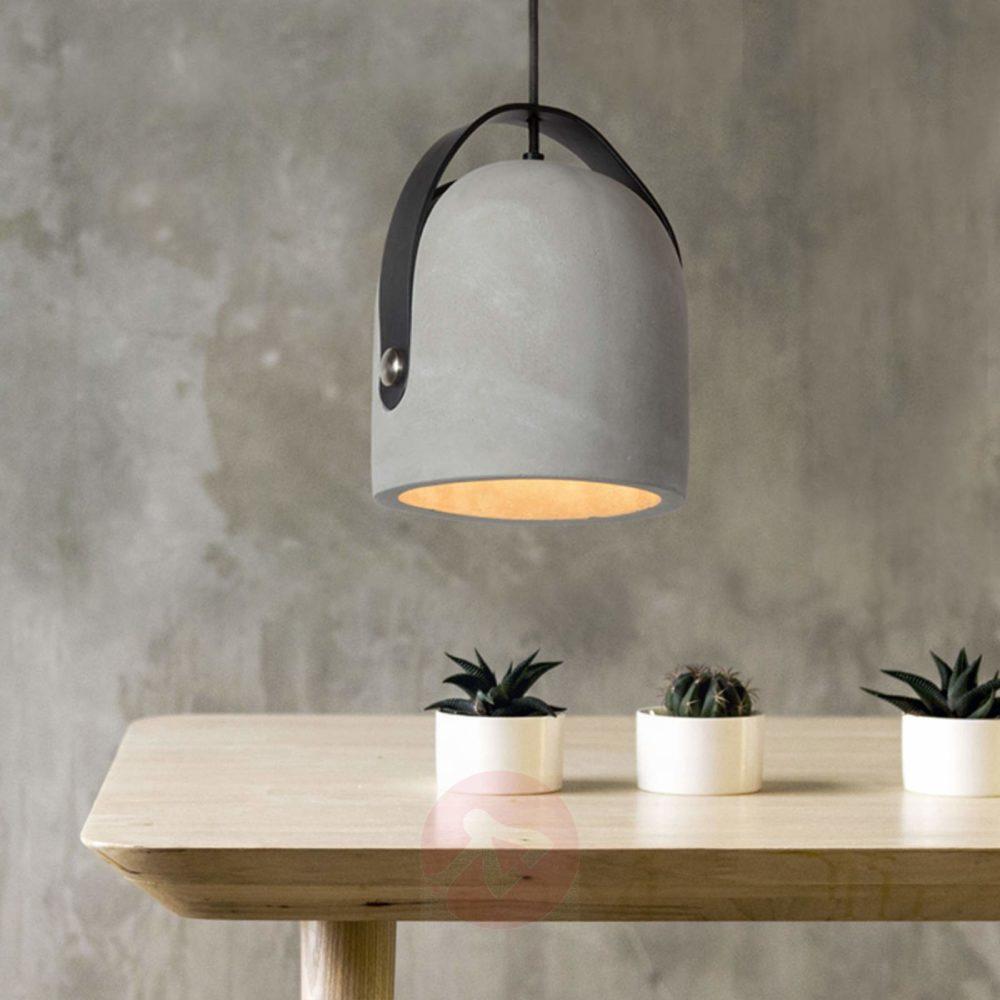 Gjør det selv lampe av betong