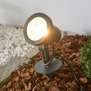 BEGA 55030 LED sokkellampe med jordspyd