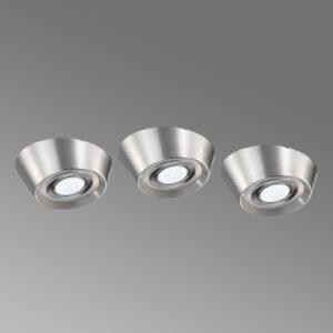 Cubic 68 CF LED lampe for innfelling, sett på 3