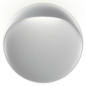 Fortyllende stoffvegglampe Nica i grå | Lampegiganten.no