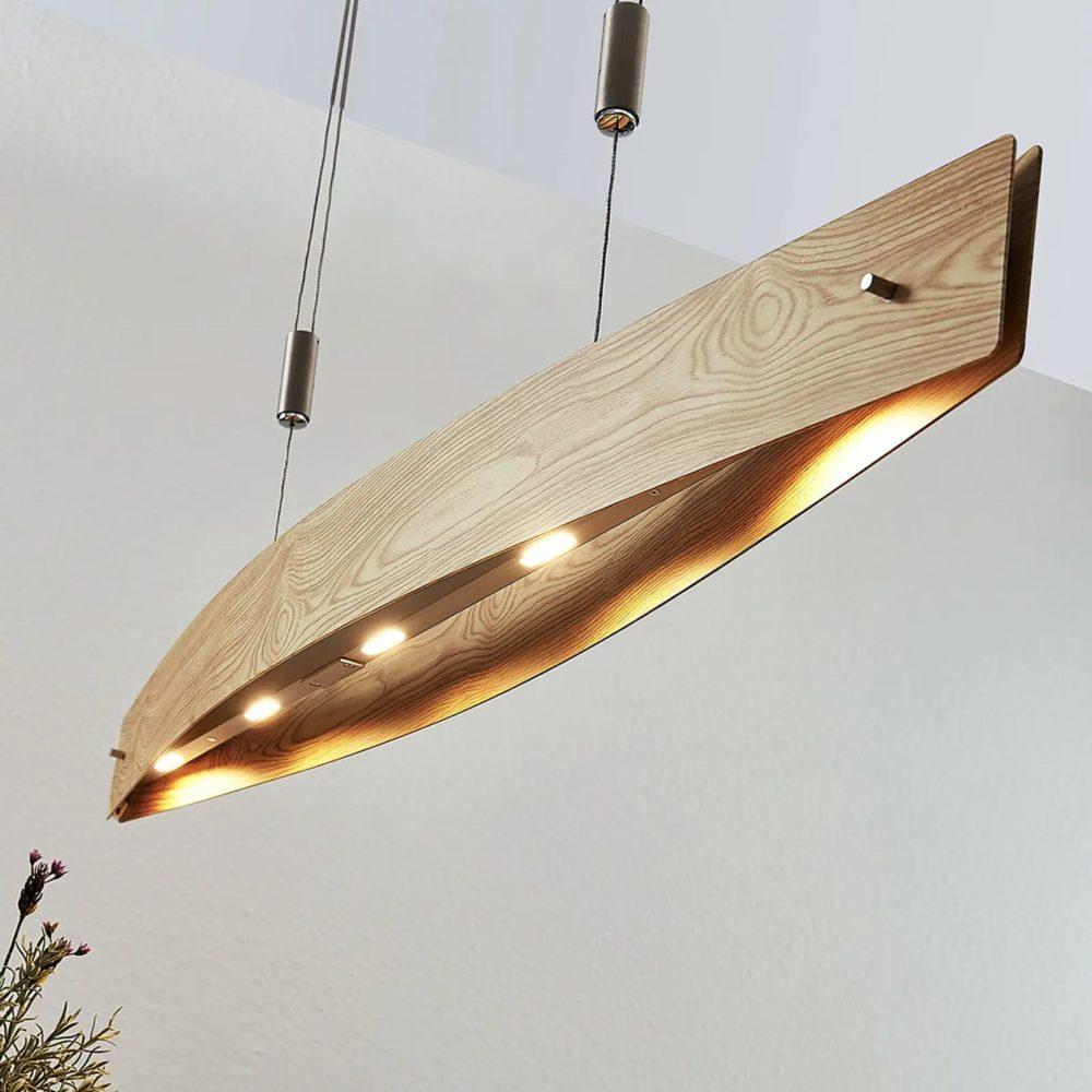 Bøyd LED vegglampe Iven | Lampegiganten.no